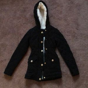 Black Winter Coat
